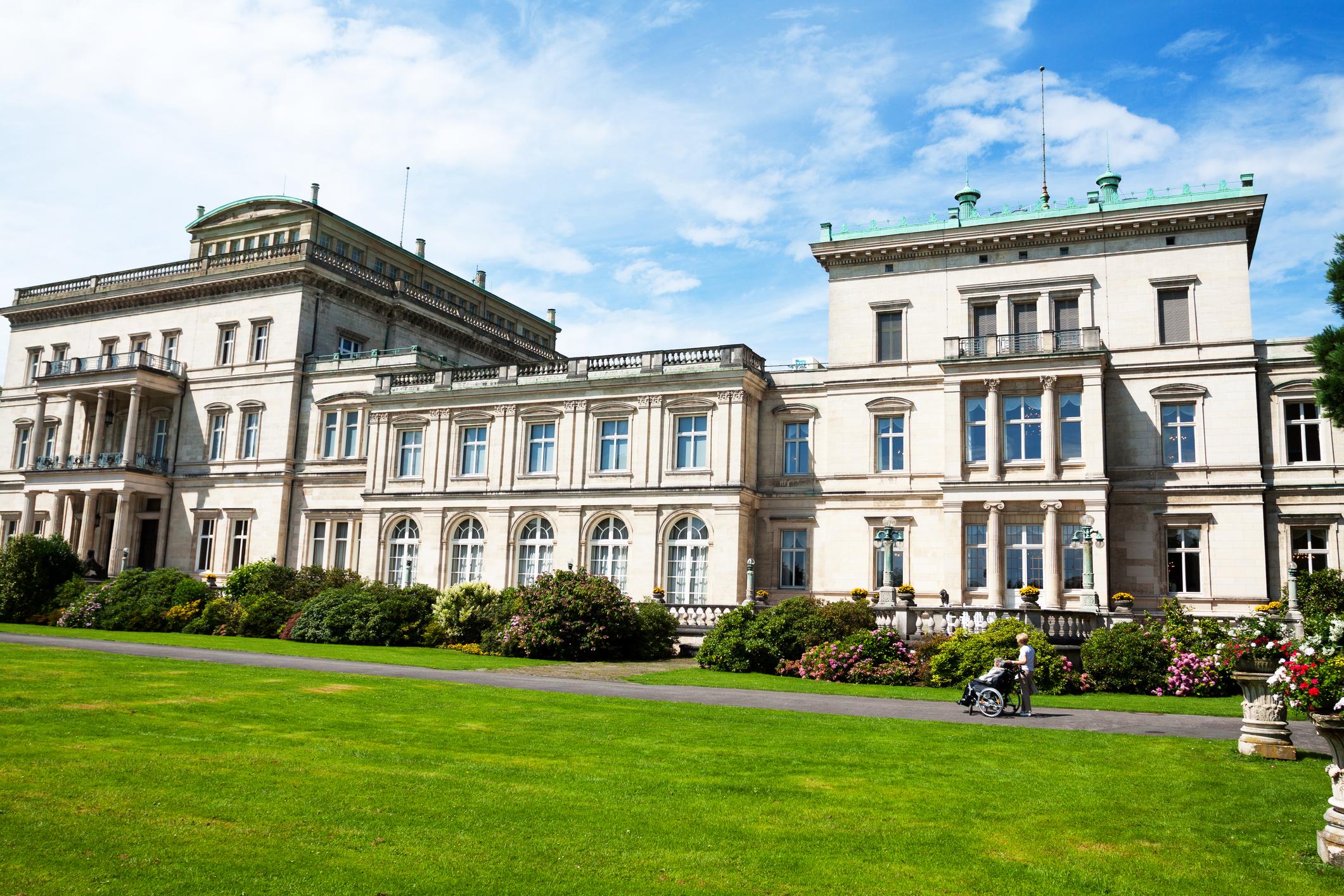 Manor house Villa H?gel in Essen