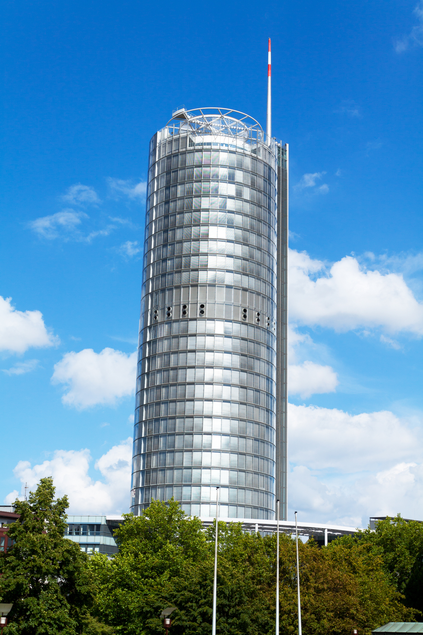 Office building and tower of RWE